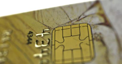 Credit Card / Debit Card / Smart Card Stock Video Footage