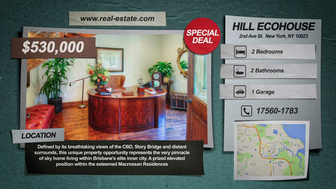 Real Estate Promo 4K & Full-HD After Effects Template