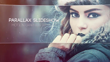 Parallax Slideshow stock footage
