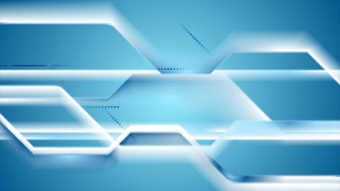 Abstract geometric tech striped video animation Animation