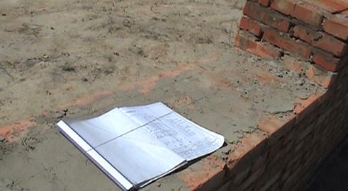 Plan construction ourdoor Footage