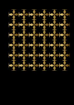 Fine gold square patterns on black background. Metallic grid ornament, luxurious Vector