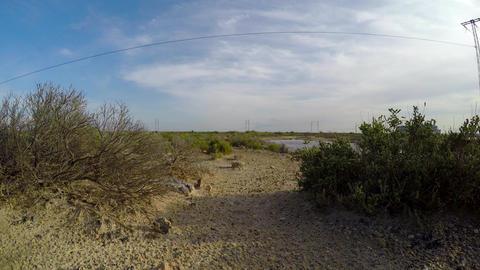 Desert in Tunisia. 4K GIF