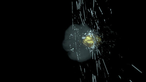 Bullet Breaking Through Glass 영상물