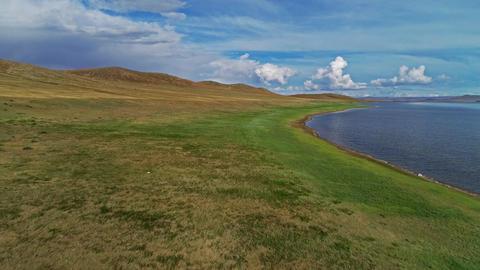 Mongolian Lake Telmen Lake 영상물
