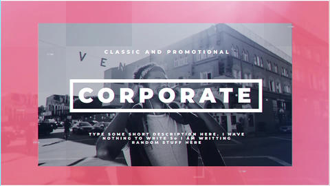 Corporate After Effects Template
