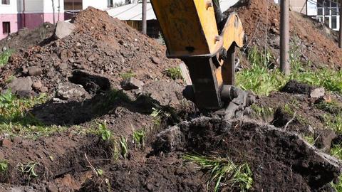 Excavator work Live Action