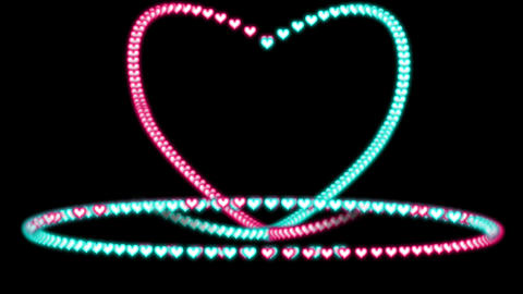 GLOWING HEART Footage