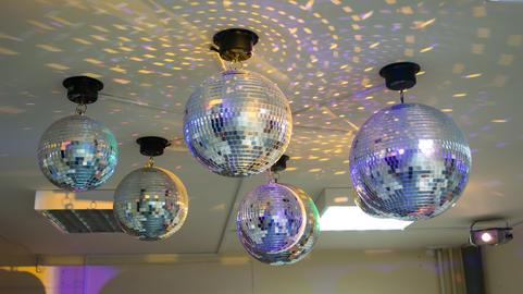 a few disco balls Photo