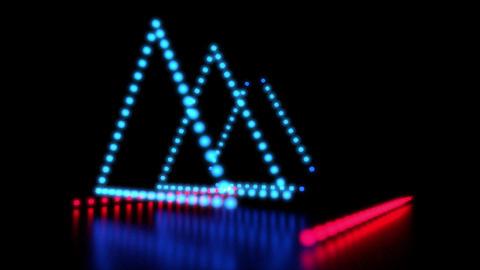 Dynamic LED Light Show 영상물