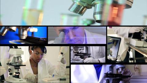 chemistry montage Footage