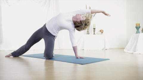 Yoga stock footage