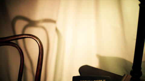 tilt down bible Footage