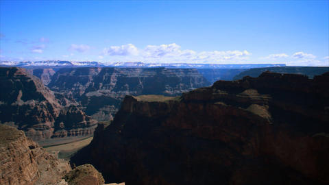 pan from grand canyon overlook Footage