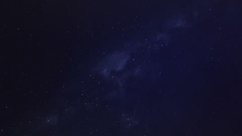 Starry Night Sky with the Milky Way GIF