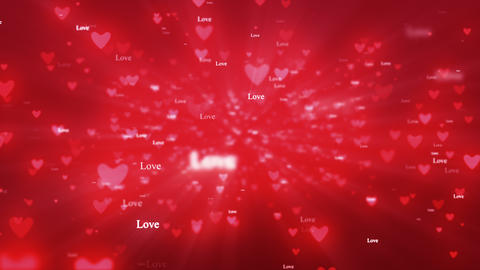 Valentine day particles 1 애니메이션