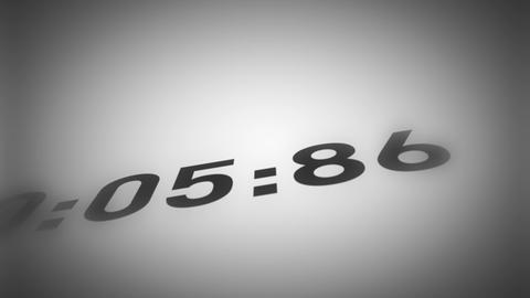 Countdown From 10 To 0 Close Up Animation