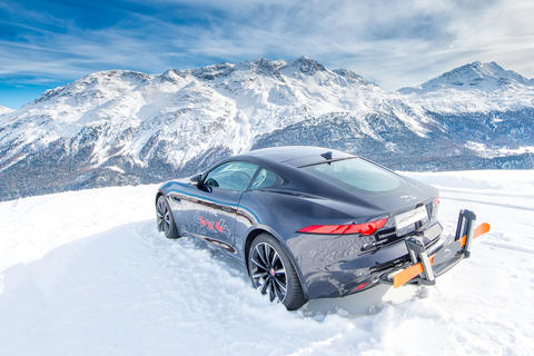 Jaguar in the snow Photo