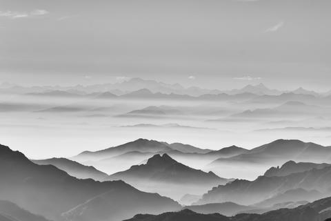 Sea of the mountain Fotografía