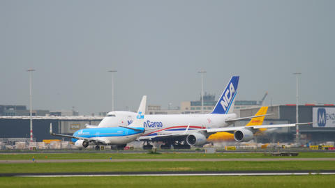 Airfreight before departure Footage