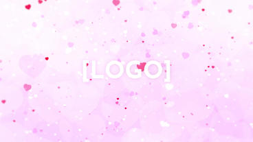 Valentine's day Logo Reveal 애프터 이펙트 템플릿