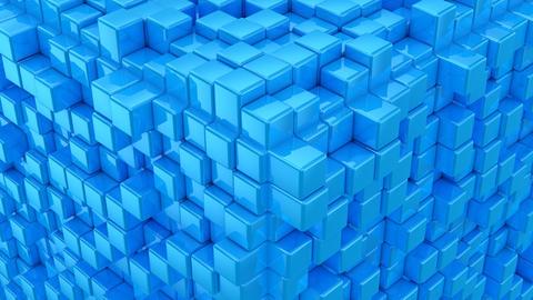 Boxes Form A Cube 애니메이션
