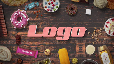 Sweet Logo Opener After Effects Template