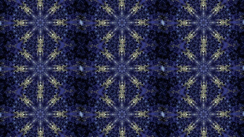 Abstract kaleidoscope motion background Live Action