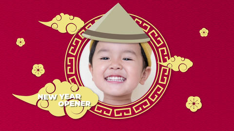 Chinese New Year Opener 2019 Plantilla de After Effects