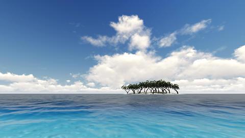 Beautiful tropical beach island 영상물