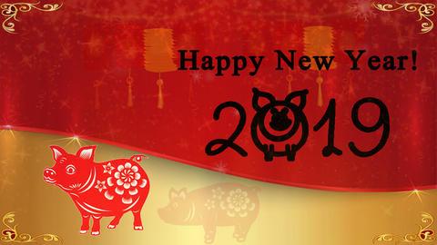 Chinese New Year 01 - Virtual Background Loop ライブ動画