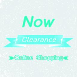 Clearance online shopping promotion banner Vector