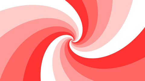 Psychedelic spiral in pink and red. Twirl vortex hypnotic…, Stock Animation
