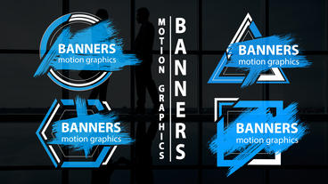 Corporate Banners Motion Graphics Template