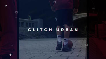 Urban Glitch After Effects Template