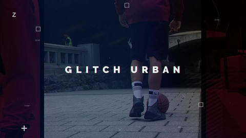 Urban Glitch After Effectsテンプレート