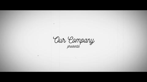 Vintage Corporate Slideshow Opener After Effects Template