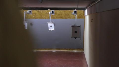 Target In Shooting Range GIF