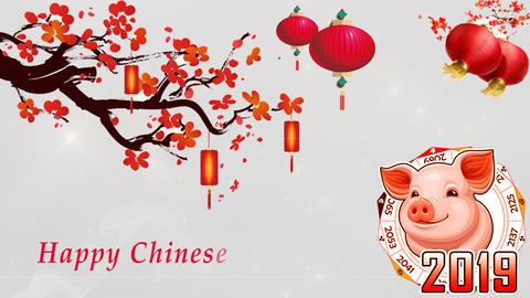 Chinese New Year 03 - Virtual Background Loop ライブ動画