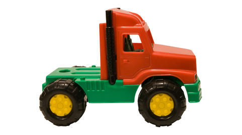 truck children's plastic without trailer Photo