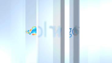 Glass Logo Reveal - After Effects Template Plantilla de After Effects