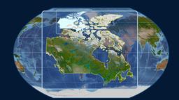 Canada (Kavrayskiy VII). Satellite Animation
