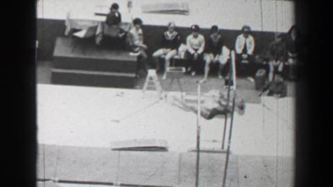 1968: Karin Büttner-Janz East Germany women's gymnastics uneven bars Summer Oly Footage