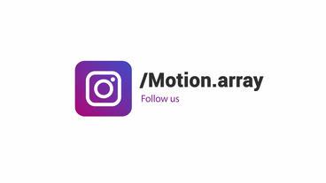 Modern Social Media Logos Motion Graphics Template