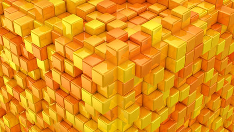 Boxes Form A Cube GIF