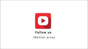 Bouncy Social Media Logos Motion Graphics Template