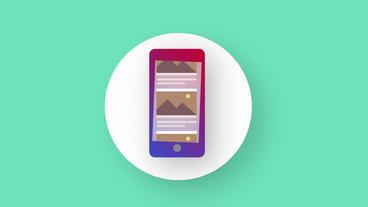 Morphing Social Media Logos Motion Graphics Template