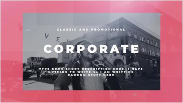 Corporate Premiere Proテンプレート