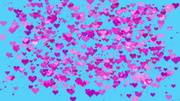 seamless looping Valentine's / Marriage love heart... Stock Video Footage
