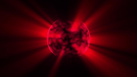 Slow Boiling Dark Red Sun Rays Motion Background Loop 2 Animation
